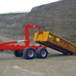 Traktorové nosiče kontejnerů