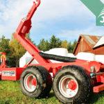 traktorové nosiče kontejnerů Bigab 10-14 G2